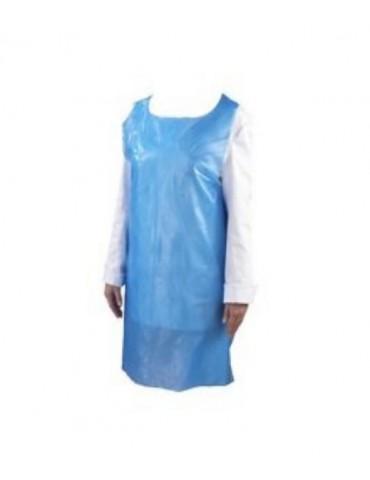 Pack de 200 Surblouses Jetables Bleues Taille 120x76cm