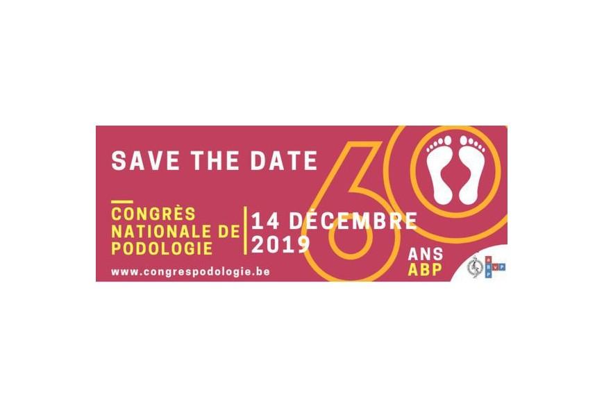 60 ANS CONGRÈS NATIONAL DE PODOLOGIE - 14 DÉCEMBRE 2019